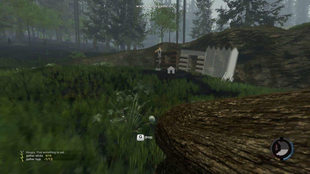 The Forest - Beispiel für schlechte Lage