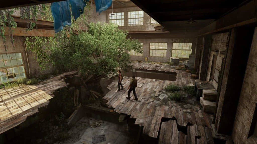 The last of us Remastered - Ingame Screenshot