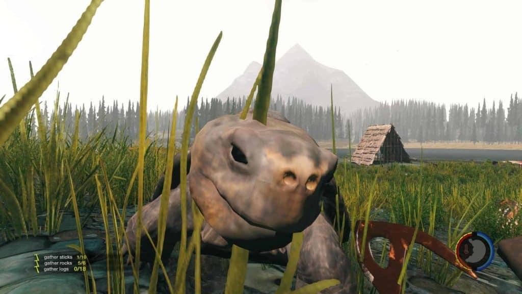 The Forest - Version 0.07 Landschuldkröte von Jango