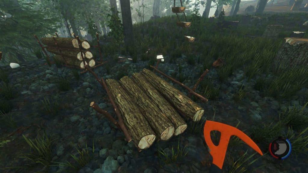 Zitat von Nico: Tja, der Sinn des Log-Schlittens inden man Stämme legen kann und den dann durch den Wald schieben kann hat sich mir noch nicht ganz aufgezeigt.. ^^