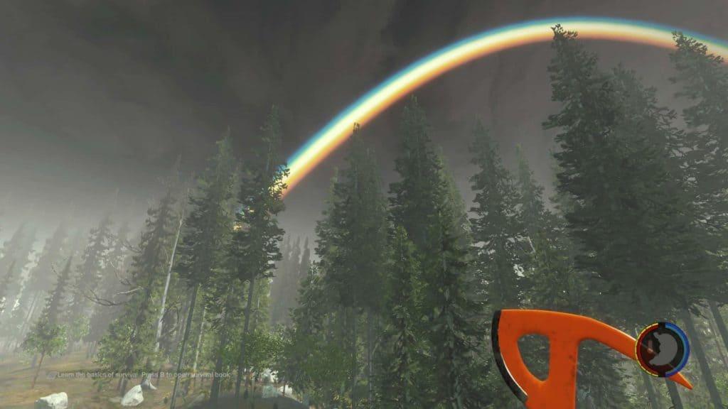 The Forest - Regenbogen in Version 0.06b