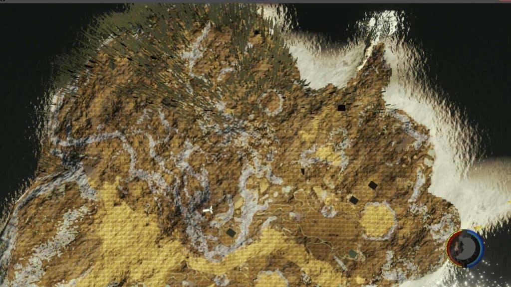 The Forest - Die Satellitenkarte aus der MOD API