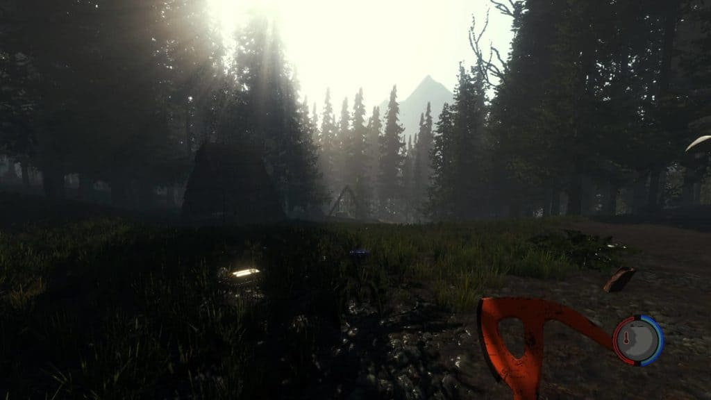 The Forest Version 0.08B - Landschaft