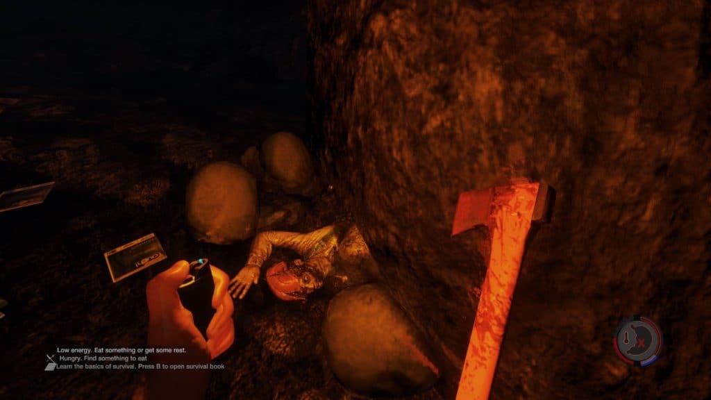 Der zerquetschte Höhlenforscher aus Update 0.08
