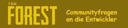 Communityfragen an die Entwickler