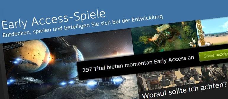 Early Access Spiele Vorschaubild