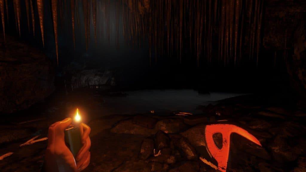 Wasser in Höhlen. In Version 0.11