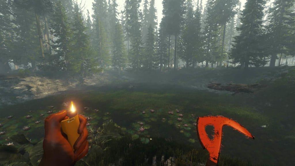 Ein Teich in der Version 0.11