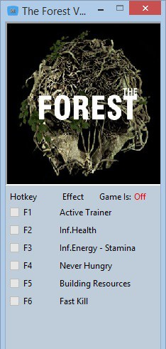 The Forest Trainer 0.10