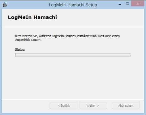 Bild 1: Hamachi installieren
