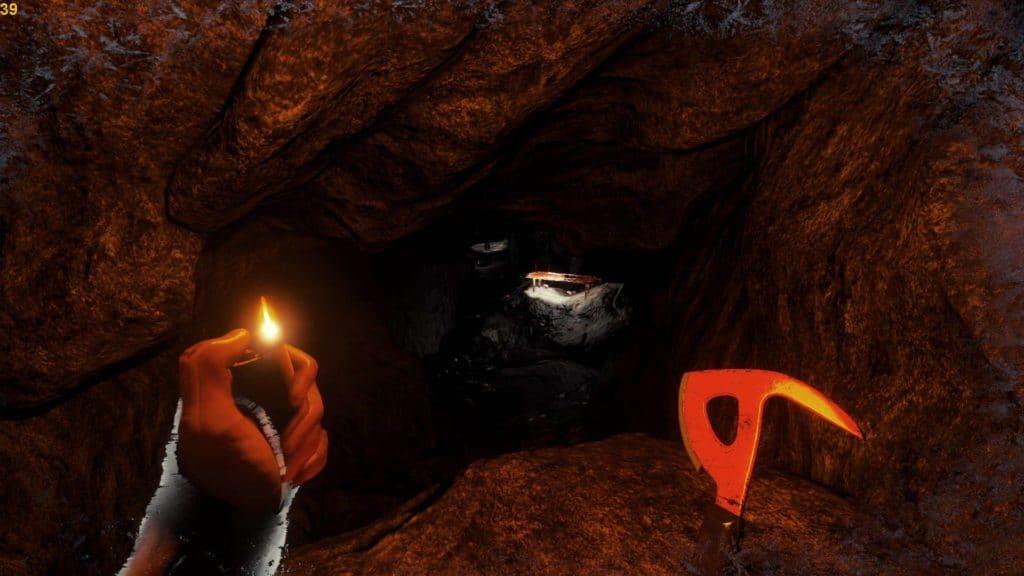 Nur ein kleiner Raum der überarbeiten Höhle #1 in version 0.13