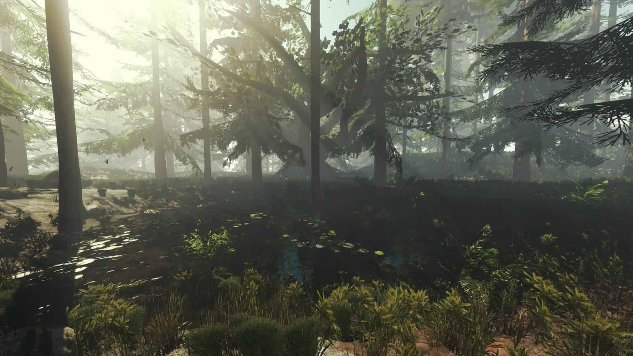 Der Teich in der Unity Engine 5