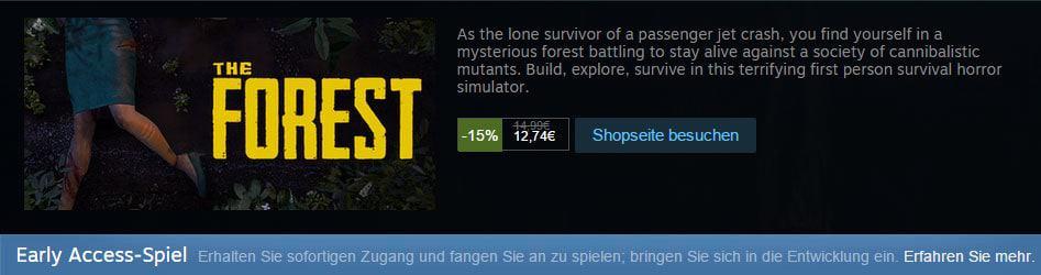 The Forest Spielstand Löschen