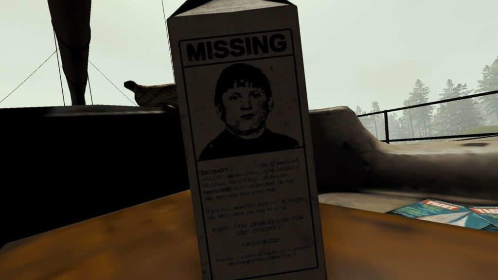 Milchpackung - Vermisste Kinder
