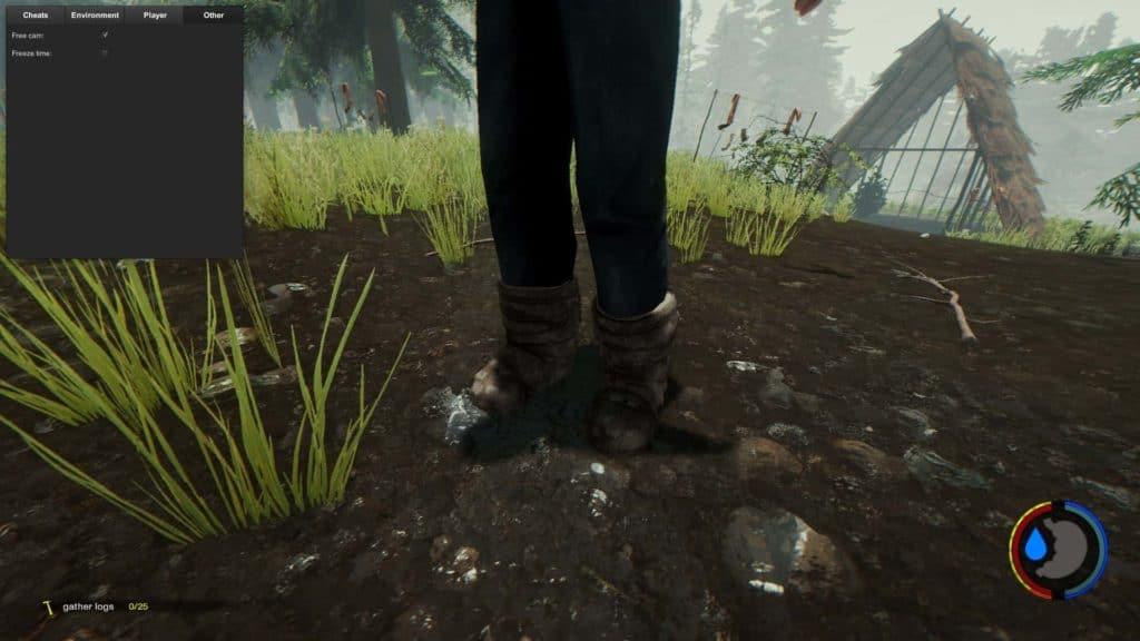 The Forest Update 0.32 Schneestiefel