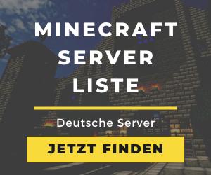 Minecraft Server Liste Banner