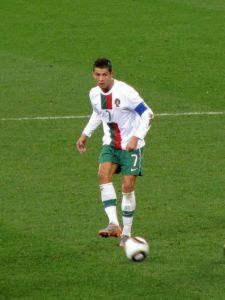 Cristiano Ronaldo im World Cup 2010