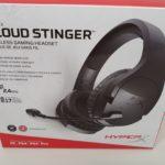 HyperX Cloud Stinger Verpackung vorne