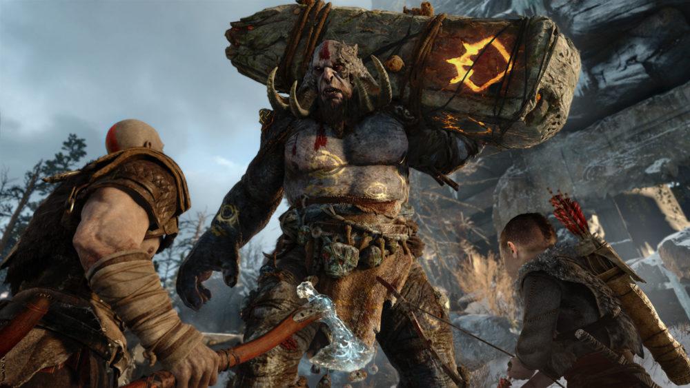 Kratos und Atreus