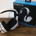 Logitech G933 Artemis Spectrum Gaming Headset mit Verpackung