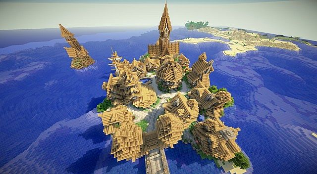 minecraft-spawn-town-crownport