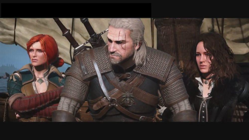 Geralt, Triss und Yennefer in The Witcher